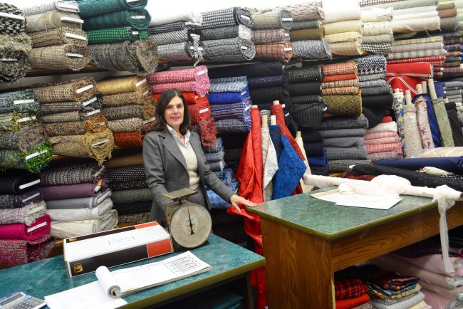 Small Business Spotlight: Mendel Goldberg Fabrics