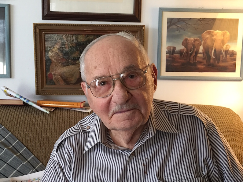A Conversation With Nonagenarian Milton Fechter